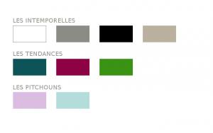 création française clikube palette de couleurs
